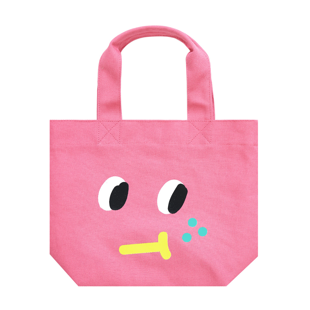 slowcoaster pink freckle tote (30% OFF)