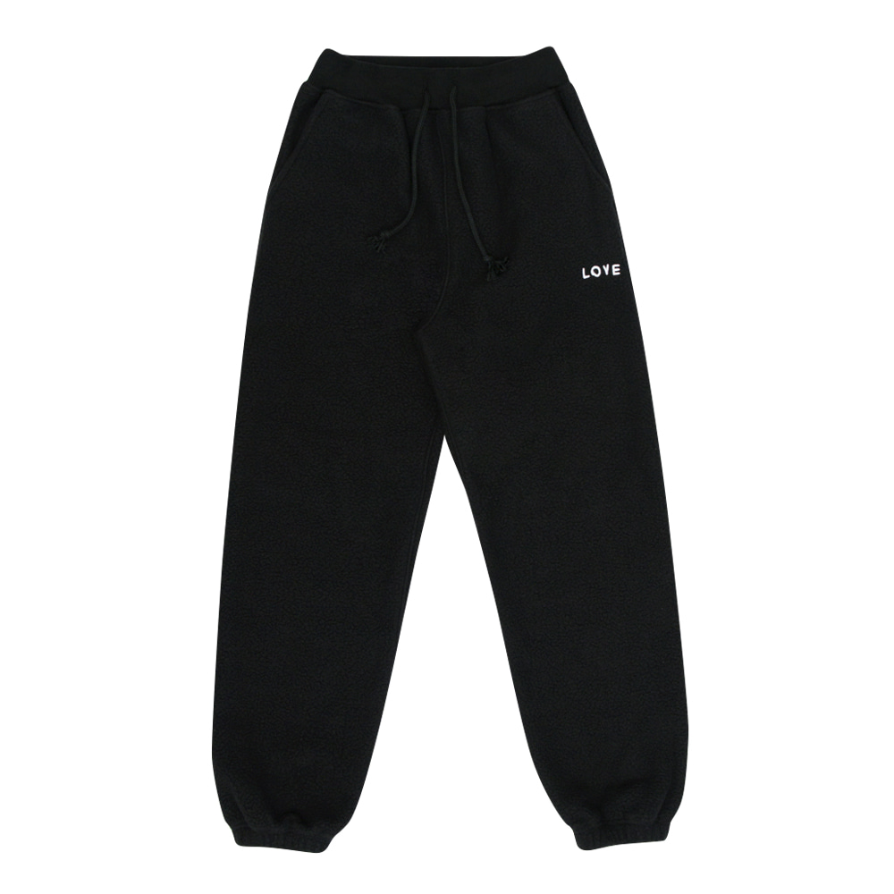 INAP fleece pants love