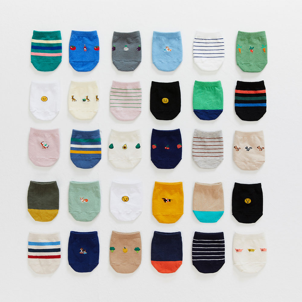 19SS half socks 2pack (20% OFF)