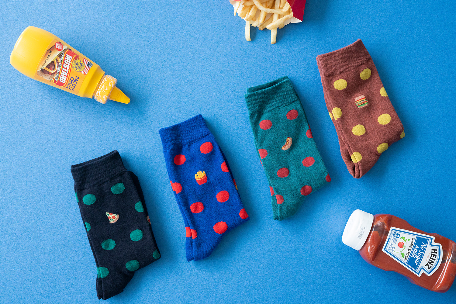 FOOD DOT SOCKS